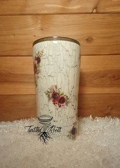 How To Crackle Paint Finish Using School Glue Paint Your Yeti Crackle Painting Diy Tumblers