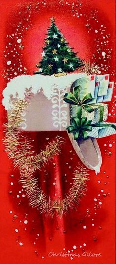 To: Deborah Fowler-Kyle - Christmas Mail Merry Christmas, Christmas Scenes, Christmas Greeting Cards, Christmas Greetings, Christmas Post, Holiday Cards, Vintage Christmas Images, Vintage Holiday, Christmas Pictures