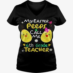 Cute Easter Teacher Shirt My Peeps Call Me 6th Grade Teacher Black Women B07bc2skxg 1,#gift #ideas #Popular #Everything #Videos #Shop #Animals #pets #Architecture #Art #Cars #motorcycles #Celebrities #DIY #crafts #Design #Education #Entertainment #Food #drink #Gardening #Geek #Hair #beauty #Health #fitness #History #Holidays #events #Homedecor #Humor #Illustrations #posters #Kids #parenting #Men #Outdoors #Photography #Products #Quotes #Science #nature #Sports #Tattoos #Technology #Tr..