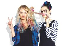 How to: je haar kleuren met hair chalk