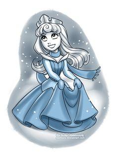Princesas Disney no Inverno | Just Lia