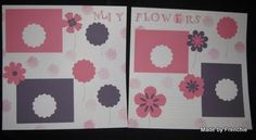 Stamp & Scrap with Frenchie: Scrapbook for Spring.....