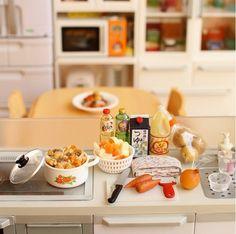 Little kitchen #re-ment#miniature