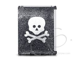 Crossed Skull Crystal iPad 2 New iPad Case  http://www.dsstyles.com/ds.crystals/crystal-ipad-cases-crossed-skull-swarovski-crystal-ipad-2-case.html