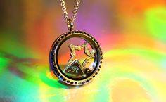 Pyramid Eye Egyptian Floating Charm Set for Locket - RepliKitty