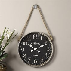 This beautiful clock measures a cool 23x41x3D
