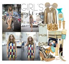 """""""Girls' Night Out: Summer Edition"""" by brownish ❤ liked on Polyvore featuring Tom Ford, Yves Saint Laurent, Diane Von Furstenberg, Michael Kors, Cutler and Gross, Christian Dior, Isabel Marant, Miu Miu, Missoni and AERIN"""
