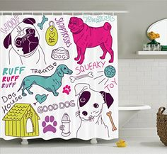 Ambesonne Dog Lover Decor Collection, Love Dogs Doodle Fo... https://www.amazon.com/dp/B01FAN9TDK/ref=cm_sw_r_pi_awdb_x_h3ufzbAV9RZ3K