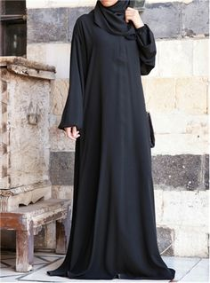 One-Piece Abaya and Prayer Outfit