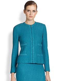 St. John Box Knit Jacket