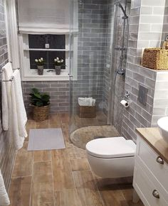 Small Bathroom Renovations, Bathroom Remodeling, Remodeling Ideas, Bathroom Makeovers, House Renovations, Small Bathroom Colors, Bathroom Small, Simple Bathroom, Bathroom Showers