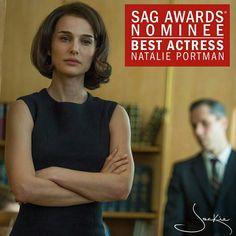 SAG Awards Nominee Best Actress Natalie Portman Jackie