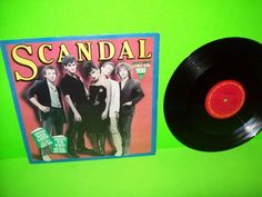 Scandal  ‎–  Goodbye To You 1982 Vinyl Mini LP Record Pop Rock New Wave 1982 #1980sDancePopElectroSynthNewWavePopRock