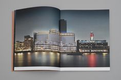 Sea Containers. Rebranding a London landmark. Brochure double page spread - dn&co.