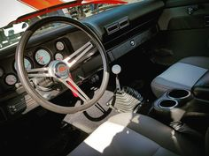 #chevy #69 #Camaro #interior #Automutt #carsimthesquare #carshow #Monroe #Wisconsin #Hereallnight