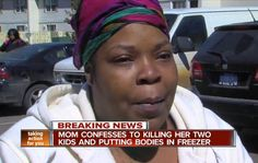Detroit Mother Arrested After Police Find 2 Dead Kids in Freezer