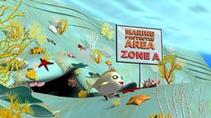 Zoe lives in the zone A of a Marine Protected Area in the Mediterranean. The environment is rich of gorgonians, starfish, sponges, fishes… In this zone, the human activities such as diving, fishing, professional fishing and boats are NOT allowed!