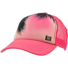 b21c826c0f84b Billabong Women s Take Me There Hat Pink Hats One Size ( 21) ❤ liked on  Polyvore featuring accessories