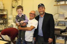 Jacob Klein Weberman (That Little Boy Loves Rimini Bakery) John Zito - Owner, Shaya Weberman