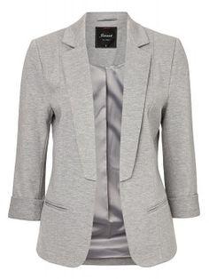 'Julia' Marle Ponte Jacket - Jackets & Vests - Womens