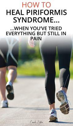 3 little-known therapies to fix piriformis syndrome pain - New Ideas Piriformis Syndrome Symptoms, Piriformis Exercises, Sciatica Stretches, Piriformis Muscle, Piriformis Syndrome Treatment, Stability Exercises, Core Stability, Sciatic Nerve Relief, Health