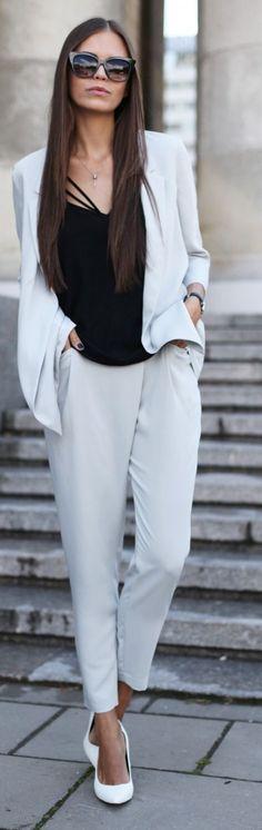 Grey Suit by JD Fashion Freak
