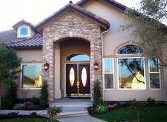 fachadas de casas puerta principal - Buscar con Google