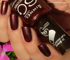 Malý koutek krásy: Rimmel London 60 Seconds - 540 Chocolate Fountain