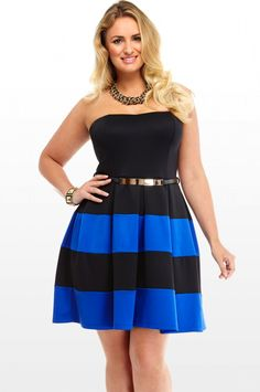 Annabel Colorblock Dress