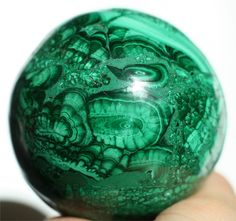 large malachite sphere, rare #bullseye #malachite #stone #ball by EarthandSkyAlchemy on Etsy https://www.etsy.com/shop/EarthandSkyAlchemy