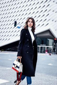 VivaLuxury - Fashion Blog by Annabelle Fleur: DOWNTOWN GIRL + DAVID YURMAN STAX COLLECTION