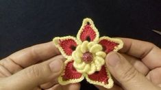 اجمل زهره بالكروشي لمشروع صدر(اتحداك انك شفت الزهره هذه في صدر كروشي)