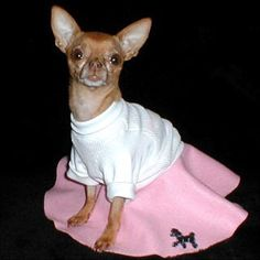 so need to make suki a poodle skirt but it will be cuter than this and