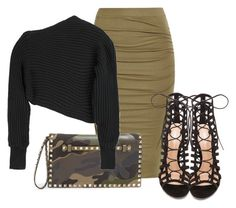 """""""Untitled #452"""" by piinkdreamss ❤ liked on Polyvore featuring Valentino, Alexander Wang and Gianvito Rossi"""