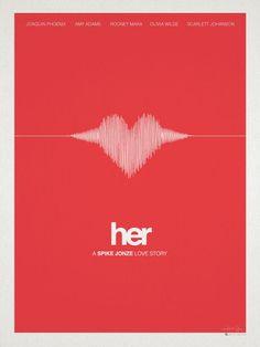 'Her' (2013) Boy meets operating system #wonderfullyweird #Spike #Jonze