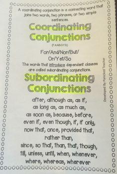 Simple, Compound, and Complex Sentences! | Panicked Teacher's Blog