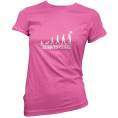 In My Head Im Climbing WOMENS Adrenaline Addict T-SHIRT tee birthday rock climb