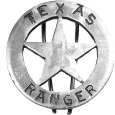 The iconic Texas Ranger badge was, and is, one of the most respected symbols in the West.