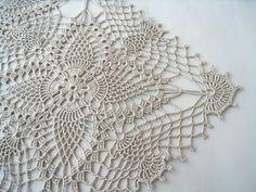 Crochet Square Lace Tablecloth Color Linen Table Topper Flower Motif   ... Crochet Square Lace Tablecloth Color Linen Table Topper Flower Motifs