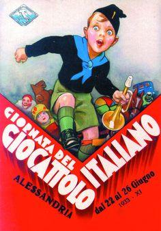 Alessandria 1933 – Giornata del giocattolo italiano #TuscanyAgriturismoGiratola