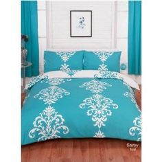 teal bedding - Google Search