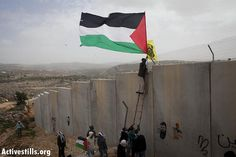 Protest against the occupation, Bil'in, 17.2.2012 West Bank,