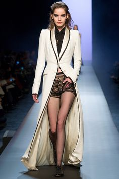 I love this coat.... Jean Paul Gaultier Spring 2015 Couture Runway - Vogue