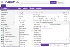 Re-architectured Yahoo! Messenger in Yahoo! Mail (Messenger in Mail) now faster, new UI, customizable with seprate Chat window launches.