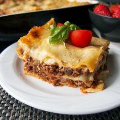 Lasagne bolognese by Dzi