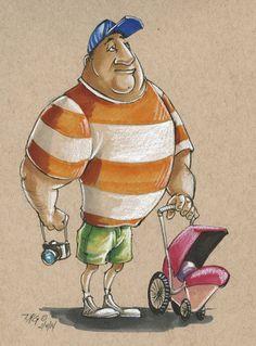 Walt Disney World Week 1 Sketch #2 by TKGentry on DeviantArt