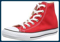Converse Chuck Taylor All Star, Unisex-Erwachsene Hohe Sneakers, Rot (Red), EU 44.5 EU - Sneakers für frauen (*Partner-Link)