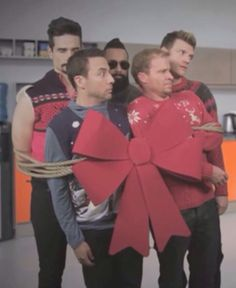 BSB Christmas  These GUYS are my first BOY BAND MY FIRST LOVES!!!!!!!! =3