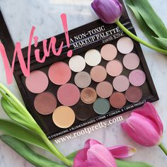 Help me win this non-toxic makeup palette from @rootpretty!