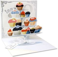 Up With Paper :: 1035 Cupcake Tier